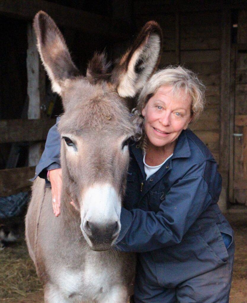 Sheree Fitch And Donkey